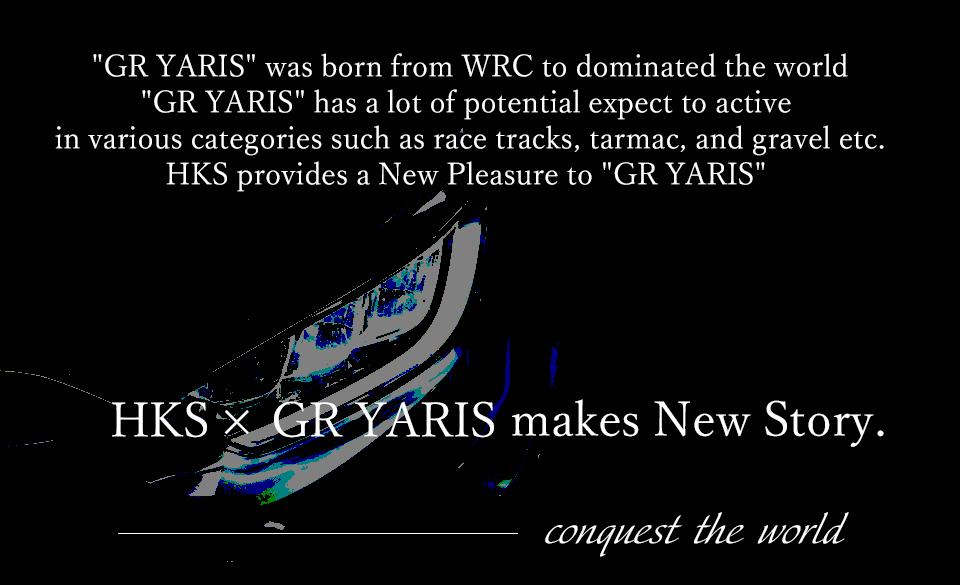 世界で勝つために作られた「GR YARIS」。サーキットからラリーまで様々なカテゴリーで活躍が期待される「GR YARIS」。自分好みに仕上げる「愉しさ」。